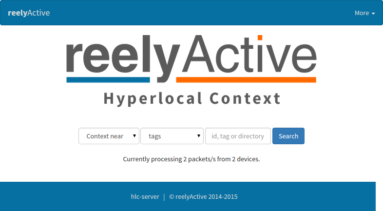 HLC landing page