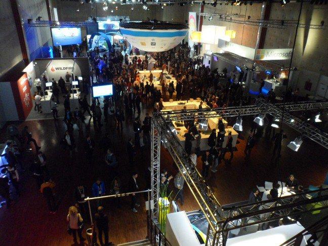 LeWeb'12 conference floor