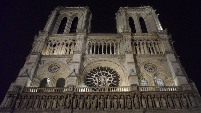Notre Dame has nothing to do with connected things...