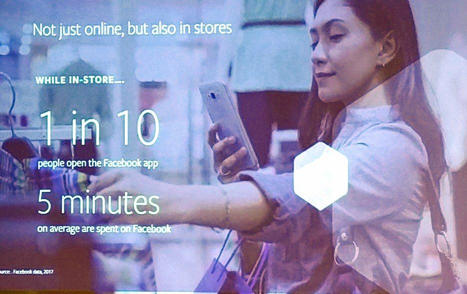 Facebook in Stores