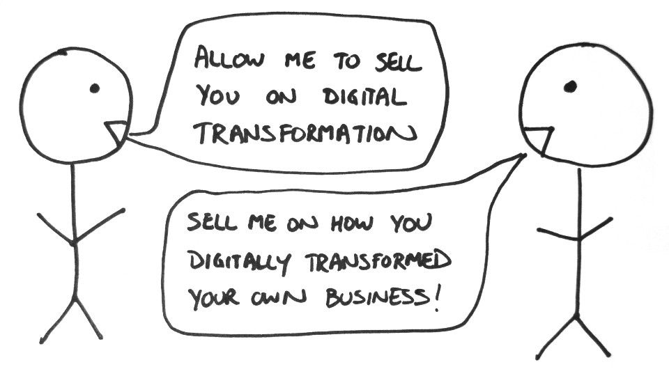 Ask your digital transformation provider…