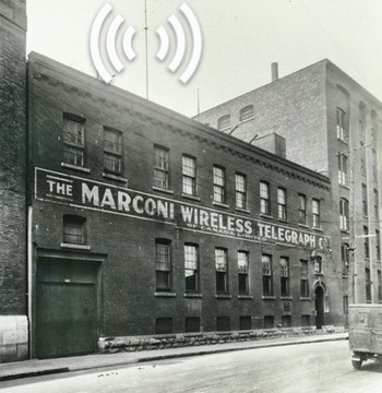 Marconi Wireless Telegraph Co. of Canada on William Street