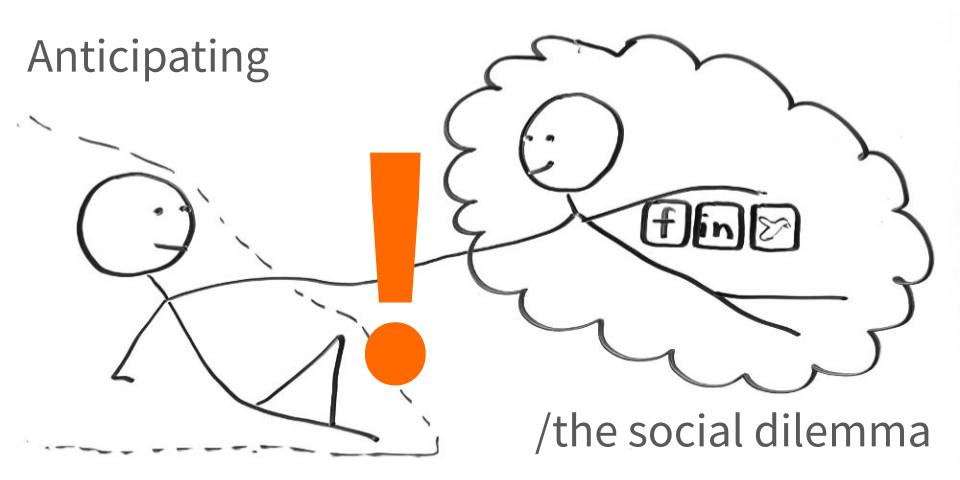 Anticipating the Social Dilemma