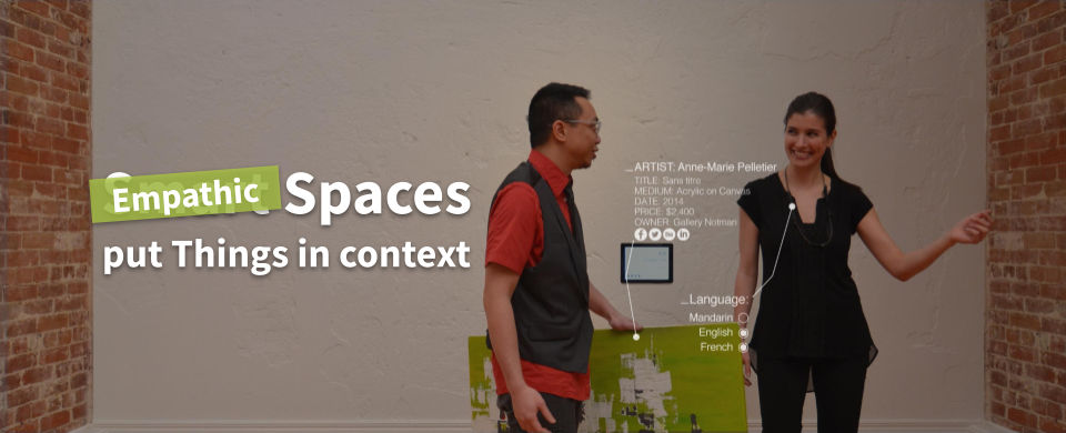 Empathic Spaces succeed Smart Spaces